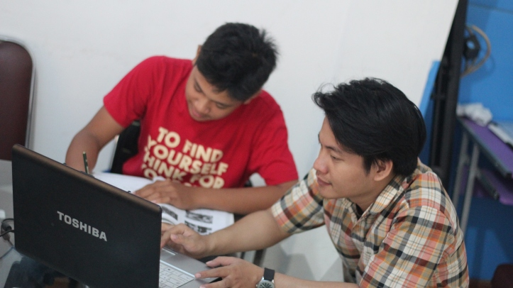 Belajar dengan software interaktif dapat membantu pemahaman siswa lebih baik sesuai dengan strategi belajar siswa (Klinik Psikoneurologi Hang Lekiu)