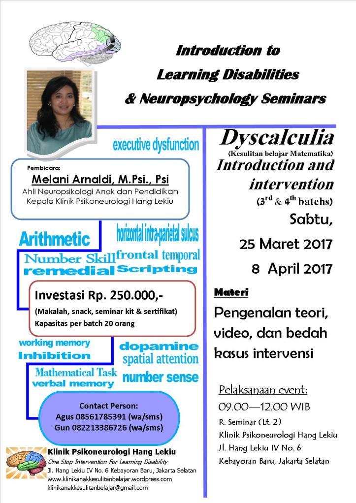 Poster Diskalkulia batch 3 & 4