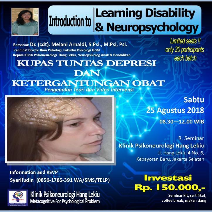 Seminar Depresi 26 Agustus 2018