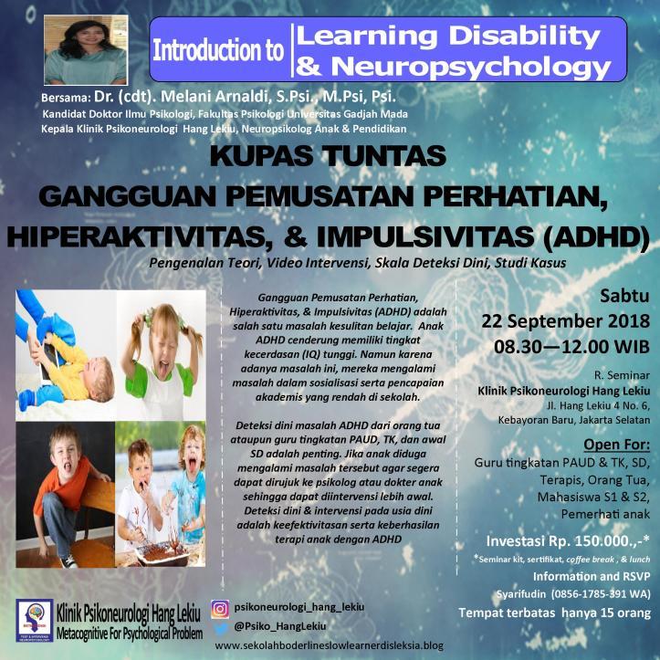 Seminar ADHD 22 September