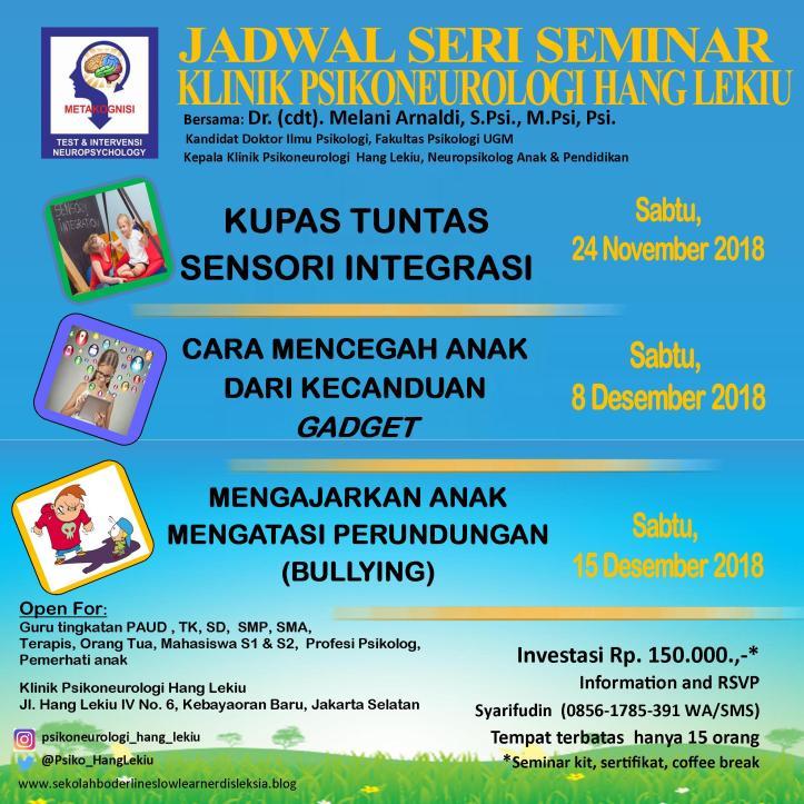 Jadwal Seminar Nov Des